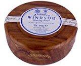 D R Harris Windsor Shaving Soap Bowl Dark Wood (Mahogony effect)+ Soap by D R Harris Windsor
