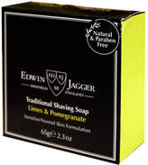 Jagger Lime Pomegranate Traditional Shaving Soap by Edwin 2.3oz Shave Soap)