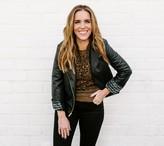 Rachel Hollis Ltd. Faux Leather Moto Jacket