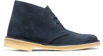 Clarks Women's Desert Boots Blue (Dark Navy Suede) 4.5 UK(37.5 EU)