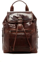 Jack Georges Spikes & Sparrow Genuine Buffalo Leather Backpack