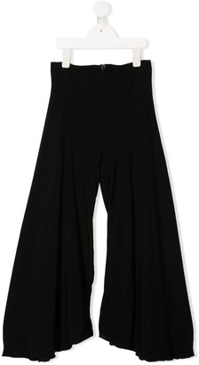 MonnaLisa Wide-Leg Flared Trousers