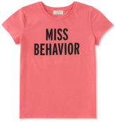 Kate Spade Miss Behavior Tee, Size 2-6