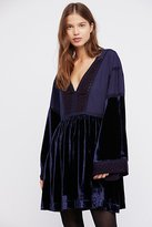 Free People Pieced Nomad Mini Dress