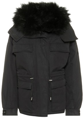 Yves Salomon Army cotton-blend down jacket