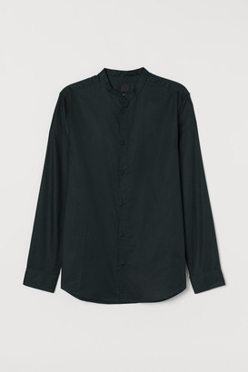 H&M Grandad shirt Slim fit