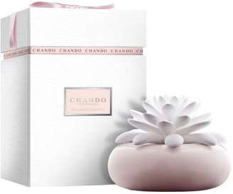 Chando Elegance Collection 2.71Oz Midnight Crystal Porcelain Aroma Diffuser