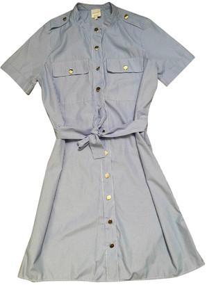 Petite Mendigote Navy Cotton Dress for Women
