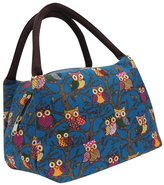 Susenstone Owl Thermal Insulated Tote Picnic Lunch Cool Bag Cooler Box Handbag Pouch