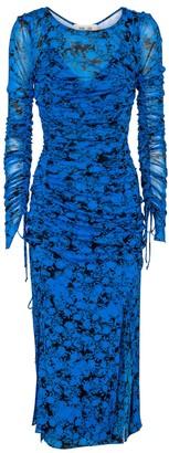 Diane von Furstenberg Corinne floral jersey midi dress