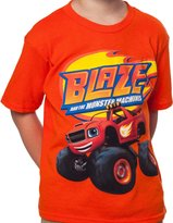 Freeze Little Boys Blue Blaze and The Monster Machines Shirt T
