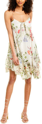 Rococo Sand Flora A-Line Dress