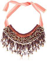Etro Beaded Fringe Necklace