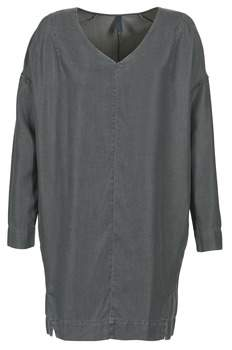 Benetton GRATIF women's Dress in Grey