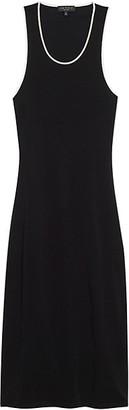 Rag & Bone Nora Piped Open-Back Dress