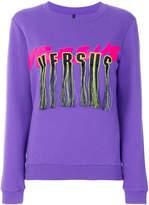 Versus tasselled logo sweatshirt