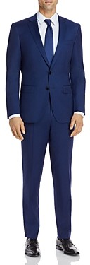 BOSS Huge/Genius Micro-Check Slim Fit Suit