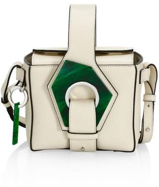 Ganni Micro Leather Crossbody Box Bag