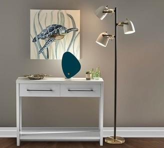 Pottery Barn Kenneth Metal 3-Light Floor Lamp