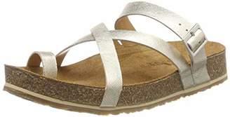 Haflinger Luna, Women's Flip Flops, Gold (Gold 715), (41 EU)