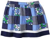 Gymboree Navy Patchwork Skirt - Girls