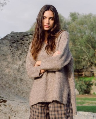 Beaumont Organic Austyn Marie Alpaca And Organic Cotton Jumper - Size XS