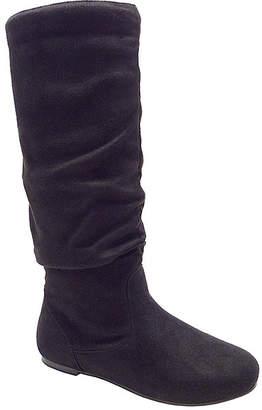 Wild Diva Women's Casual boots BLACK - Black Kalisa Slouch Boot - Women