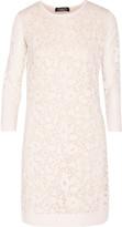 Magaschoni Burnout silk-blend mini dress