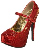 Pleaser USA Women's Teeze-07 Mary Jane Pump