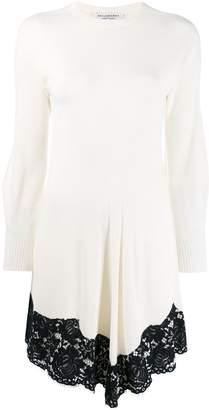 Philosophy di Lorenzo Serafini asymmetric hem knitted dress