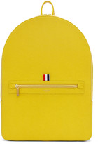 Thom Browne Yellow Leather Backpack