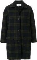 YMC tartan coat