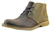UGG Leighton Bomber Men Round Toe Leather Tan Chukka Boot.