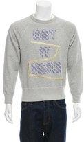 Acne Studios College Patch Sweatshirt