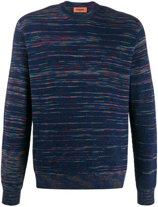 Missoni Abstract Striped Jumper