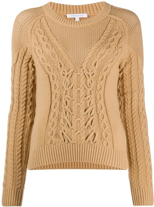 Patrizia Pepe Cable Knit Jumper