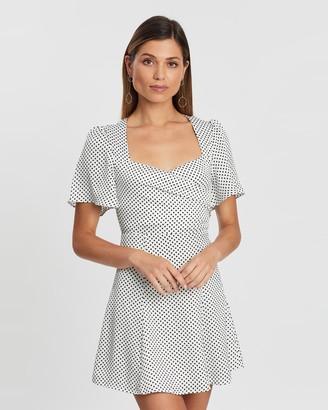 Atmos & Here Harper Spot Mini Dress