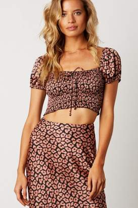 Cotton Candy Pink Leopard Top
