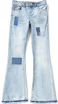 Levi's Big Girls 7-16 Midrise Boho Flare Released Hem Patch Detail Jeans