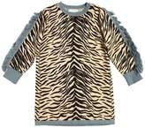 Stella McCartney Zebra Organic Cotton & Wool Knit Dress