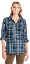Carhartt Women's Dodson Button Front Plaid Shirt