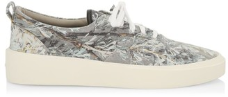 Fear Of God Print Canvas Sneakers