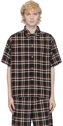 N.Hoolywood Black Undercover Edition Check Shirt