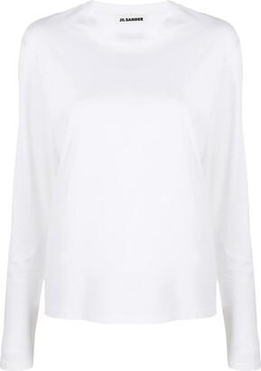 Jil Sander long sleeve cotton T-shirt
