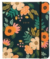 Rifle Paper Co. 2018 Lively Floral 17-Month Planner - Green