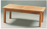Fixed Grid Solid Teak Dining Table Grade: B