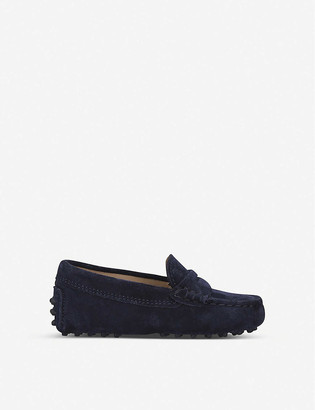 Tod's Mocassino suede driving shoes 2-5 years