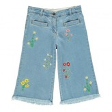 Stella McCartney Sale - May Embroidered Flower Culottes