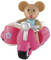 International Playthings ELC Toybox Martha Mouse & Her Scooter by