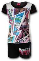 Monster High Girls Shorty Pyjama Age 6,8,10,12 Years